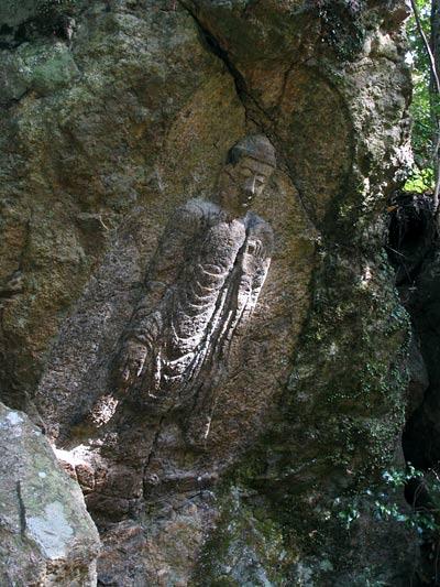 石仏 滝坂道3