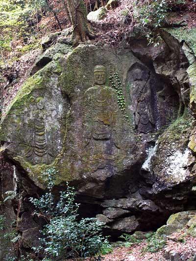 石仏 滝坂道4