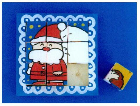 クリスマスキュービックパズル