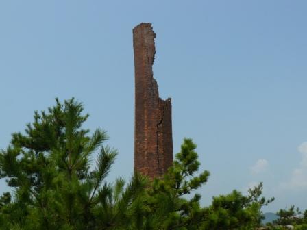 犬島の煙突