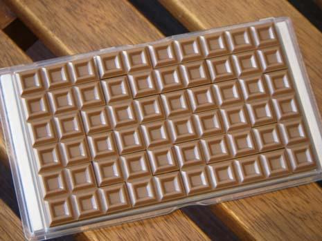 チョコレートパズル完成