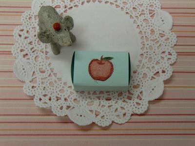 りんごのはんこ3