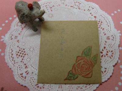 薔薇のはんこ3