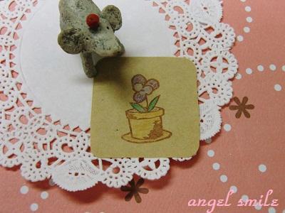パンジーの植木鉢2