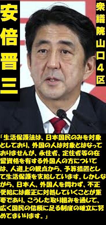 安倍晋三2013