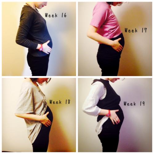 妊娠6ヶ月 お腹