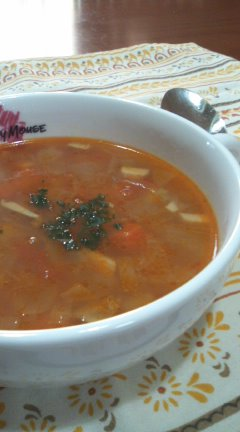 野菜スープ in ミート