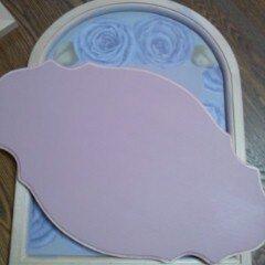 ピンク塗ったー