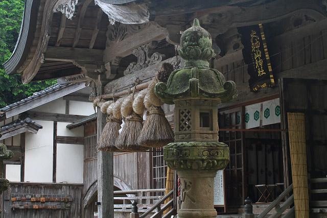 米子市尾高~大神山神社 本社