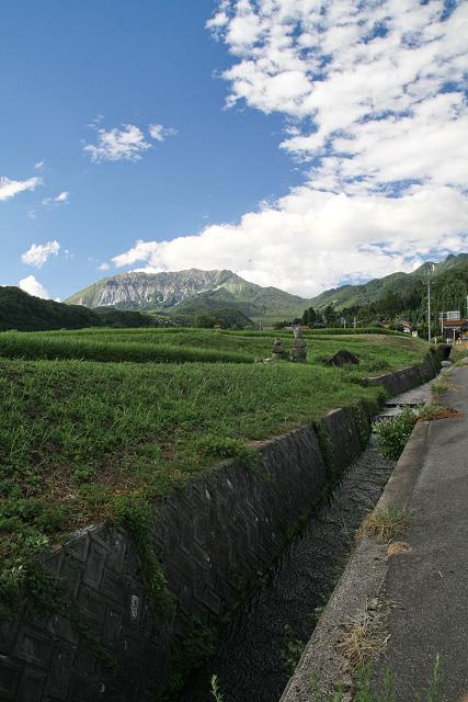 大山の見える風景~江府町御机