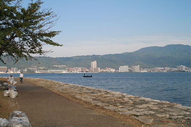 滋賀県・大津市・琵琶湖 サイクリング ポタリング