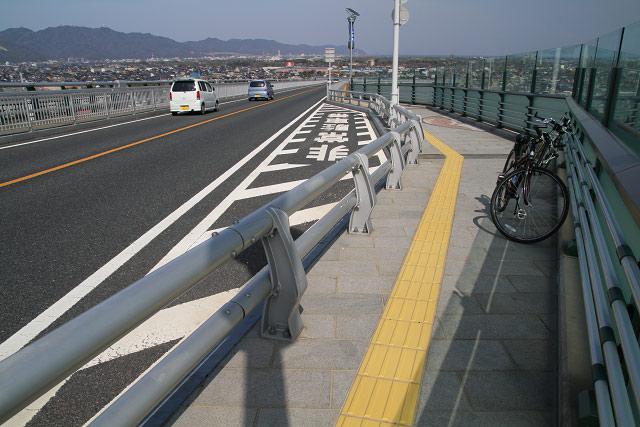 江島大橋 サイクリング