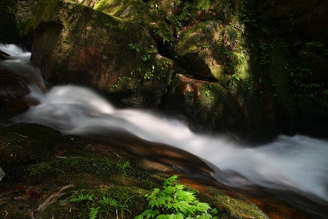 鳥取県東伯郡三朝町~福山不動滝