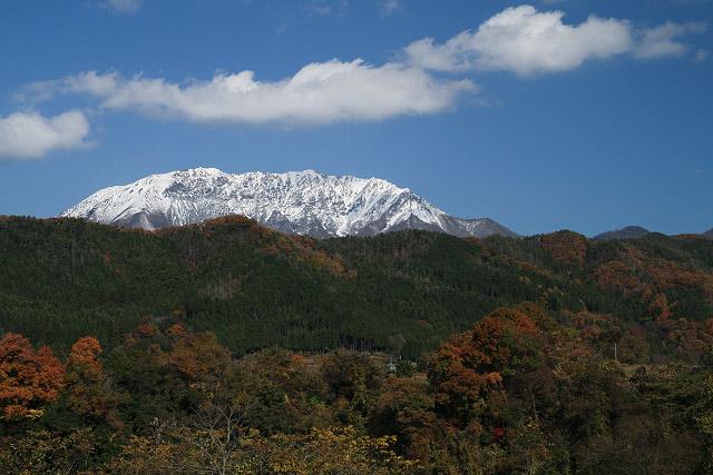 奥大山の秋~御机