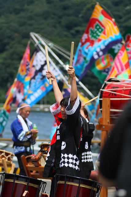 みなと祭り 境港 大漁旗