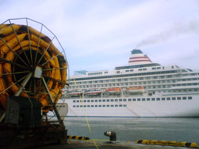 豪華客船 飛鳥2 境港