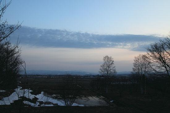 1004夕暮れの雲