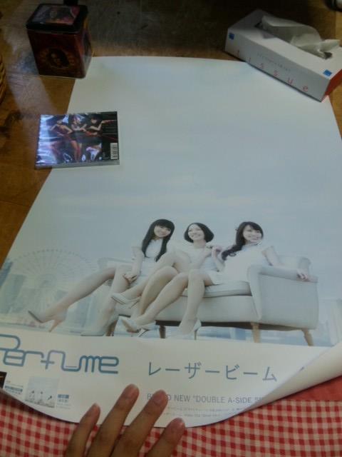 Perfume レーザービーム ポスター3961