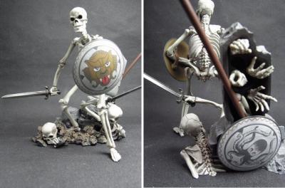リボルテック骸骨剣士全身