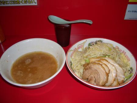 ラーメン二郎つけ麺