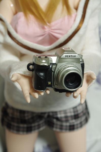 小さな隠れ里ミニチュアカメラ