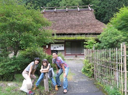 9)寺谷に来ました
