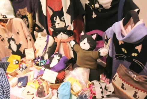 9)猫展会場