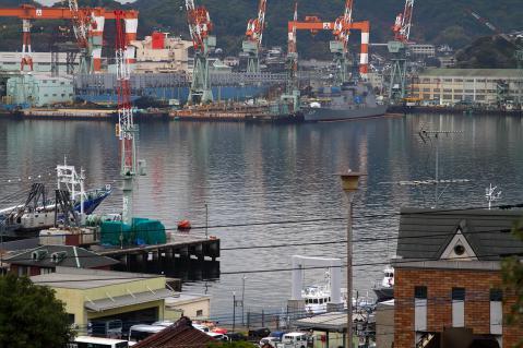 造船所の光景