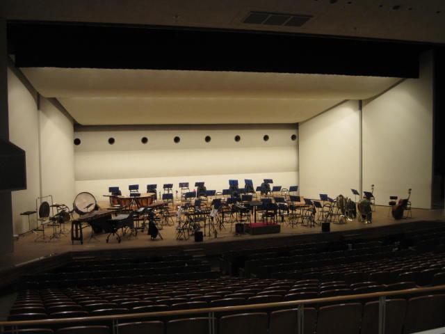 ホール練習・・・2011