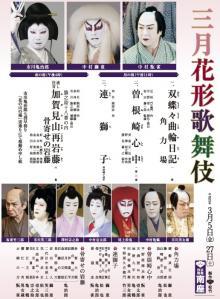 三月の歌舞伎
