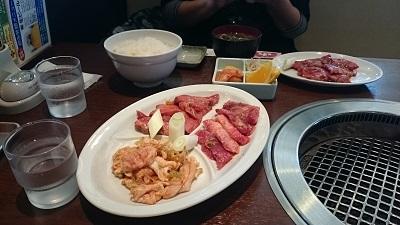 温泉焼肉1