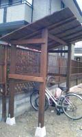 自転車置き場4