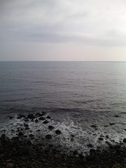 伊豆半島から見える太平洋