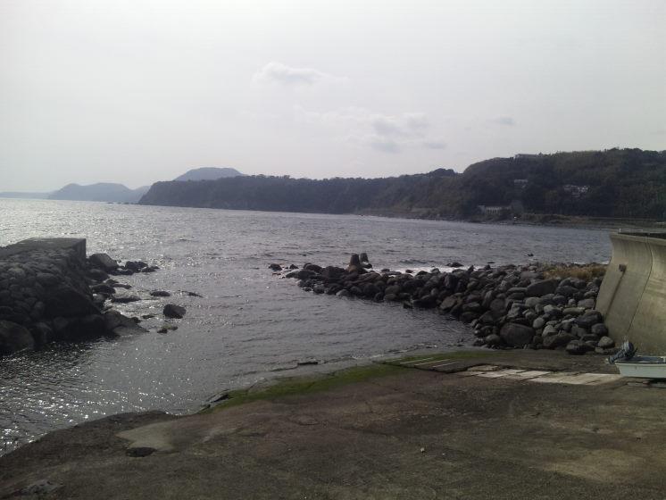 続、旅館から眺める海