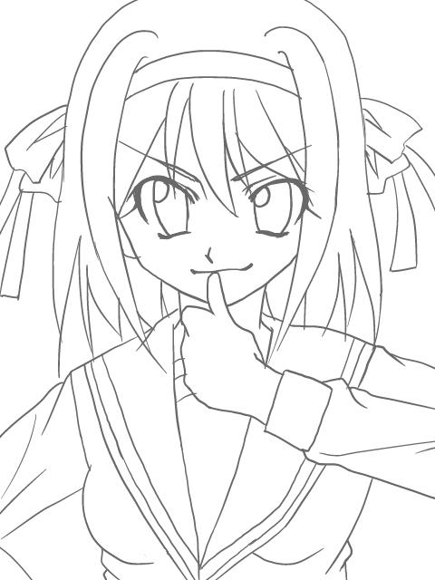 ハルヒ(色無し)