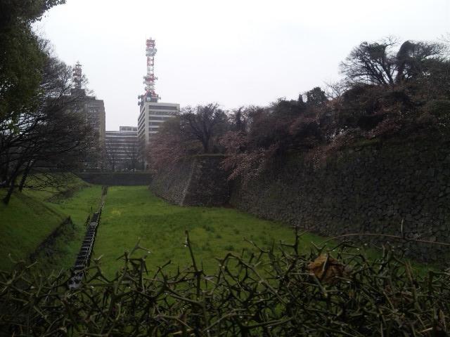名古屋城の外壁