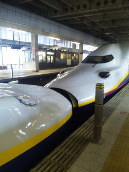 新幹線のチュー