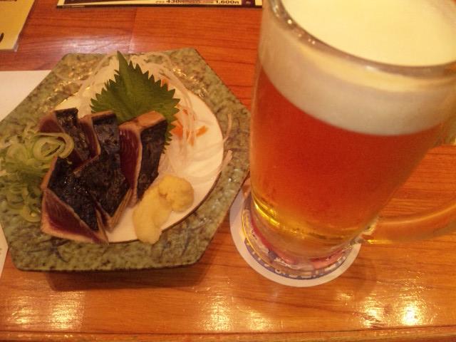 運動後のビール