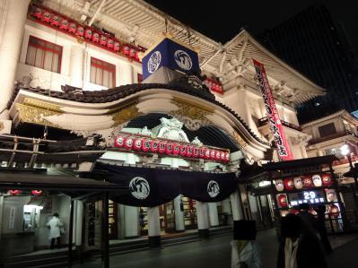 四月歌舞伎座