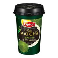 リプトン THE MATCHA 濃厚抹茶×生クリーム仕立て