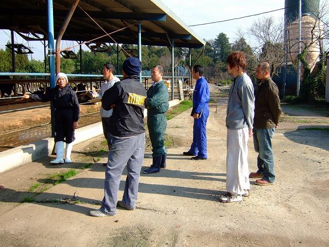麻賀多山牧場バーンミーティング