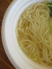 東京ラーメンショー2014 第1幕 ~彩色ラーメンきんせい「なにわの金の塩」~-17