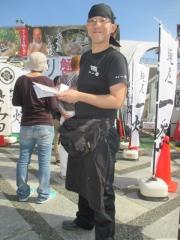 「東京ラーメンショー2014」第2幕 中華蕎麦 とみ田×麺屋 一燈「渡り蟹の白湯そば」-10