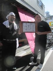 中華ソバ 伊吹×烈志笑魚油 麺香房 三く コラボ限定「麺 一期一会三」-10