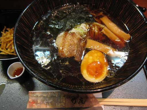 竹虎(虎ダレ醤油ラーメン)