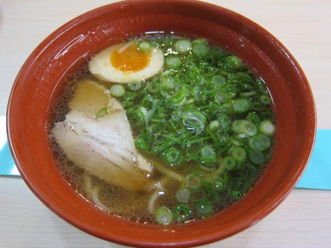 くら寿司(魚介醤油らーめん)