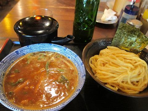 桔梗(⑬辛つけ麺)
