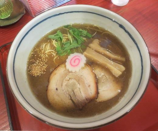 飛魚正麺・醤油(¥980)