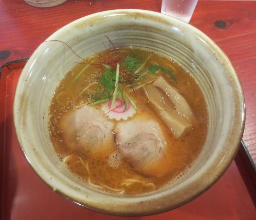 海老花麺・塩(¥1120)