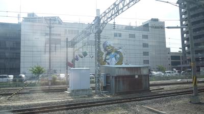 青森駅付近 ビル